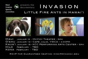 LFA Premiere invitation